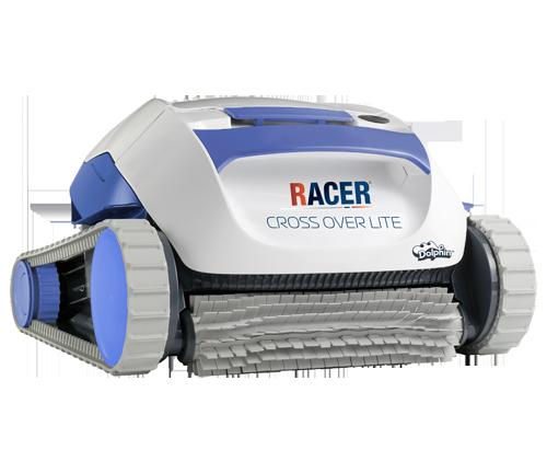 Robots lectriques racer nettoyage rapide et efficace for Robot piscine racer