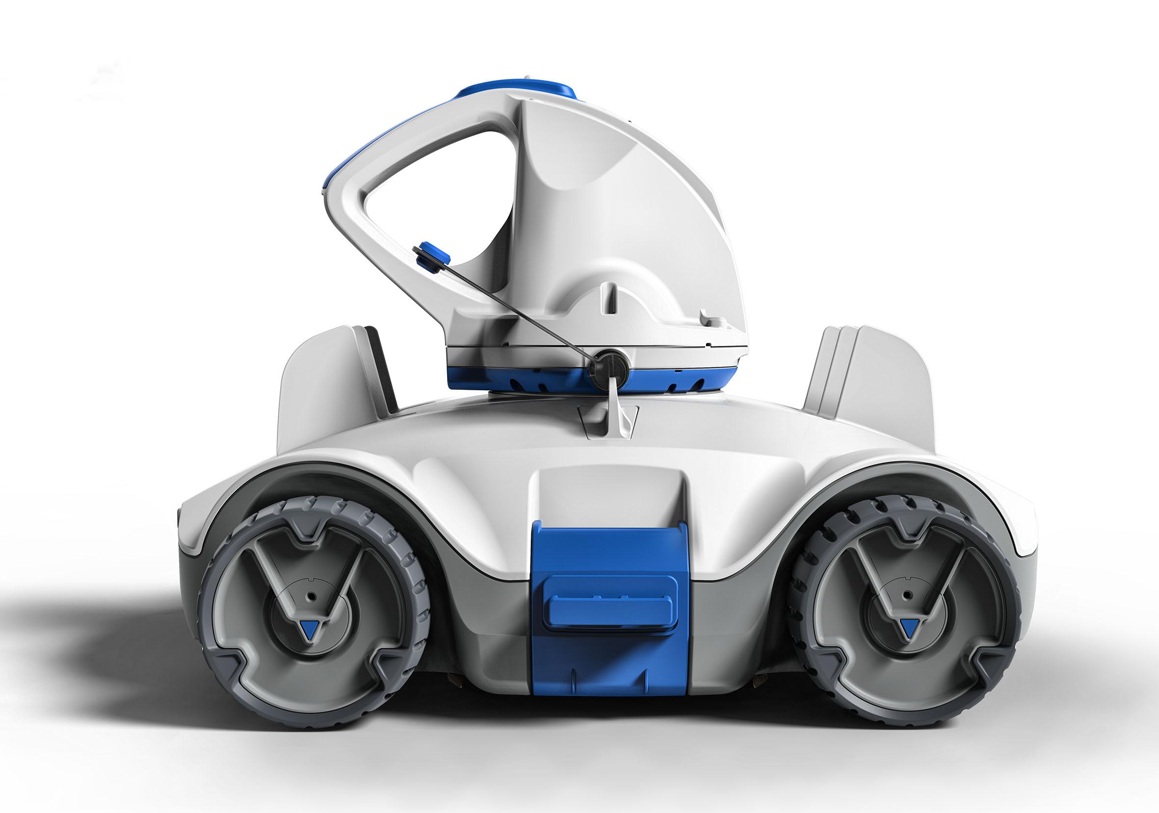 Le robot lectrique autonome pour votre piscine racer wizz for Robot piscine racer