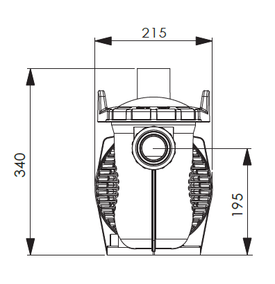 Dimensions Pompe E-Power Bi-Vitesse 2