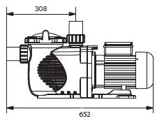 Dimensions Pompe Power 1