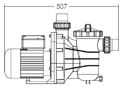 Dimensions Pompe Timer 1
