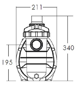 Dimensions Pompe Timer 2